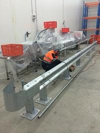 Wbeam Guardrail Installation