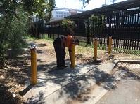 Security Bollard Installation For Sydney Trains