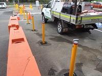 Sydney Olympic Park Security Bollards