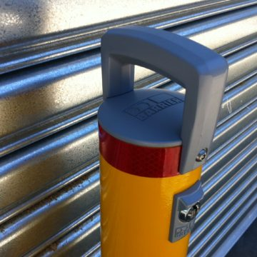 BCL90 Cam-Lok Removable Security Bollard