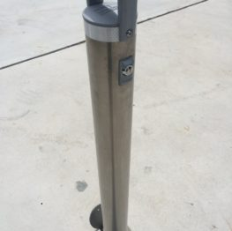 BCL90-SSH Cam-Lok Removable Security Bollard