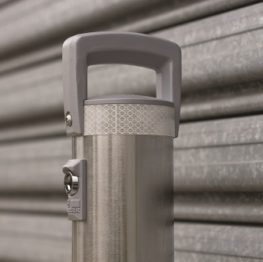 Cam-Lok In-ground Removable Security Bollards