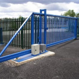 Cantilevered Sliding Gates