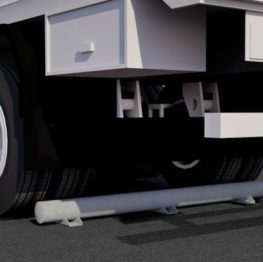TS140-G heavy duty truck wheel stop