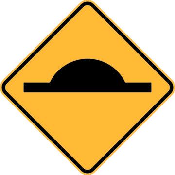 BSHKIT Speed Hump Sign Kit