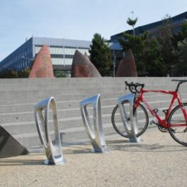 Zephyr Bike Storage Bollard