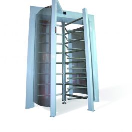 Security Turnstile Mechanical Single Direction