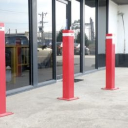 Heavy Duty Square Bollards