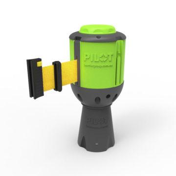 Pilot-YEL Pilot Retractable Belt Barrier