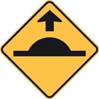 BSHKIT2 Speed Hump Ahead Sign Kit