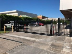 Automatic Sliding Security Gate