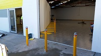 BSL90 Security Bollard Installation