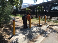 Security Bollard Installation For Sydney Trains
