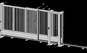 Telescopic Sliding Gate