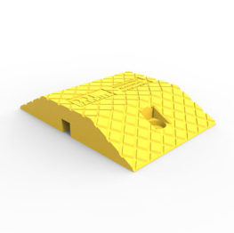 SMC250Y Polyethylene Speed Hump Body Module Yellow