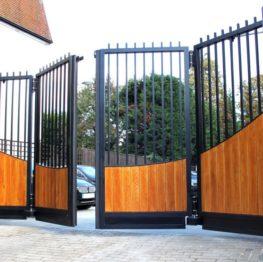 Bi-Fold Swing Gates