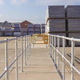 Ball Fence Hand Rail System