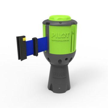 Pilot-BLU Pilot Retractable Belt Barrier