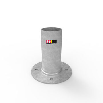 BCL90H Cam-lok 90mm Surface Mount Holder