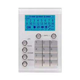 101-623-WHT - Ness Alarm System Saturn Keypad White