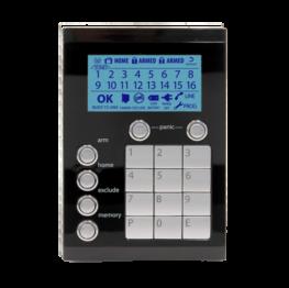 106-323-BLK - Ness Alarm System Saturn Keypad Black Edition
